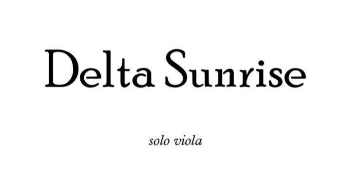 Delta Sunrise Viola