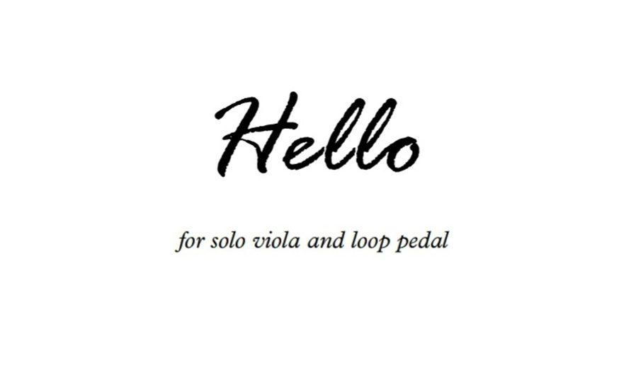 Hello Viola